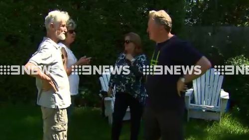 Mr Bolt and Mr Menke are part of the group auctioning off their home. (9NEWS)