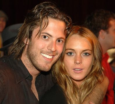 Harry Morton and Lindsay Lohan in July, 2006