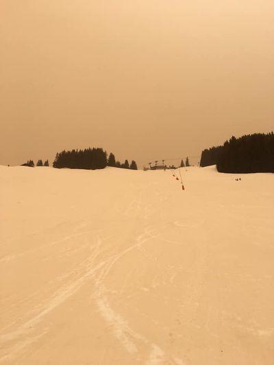 Sandstorm in the Alps