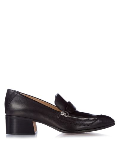 "<a href=""http://www.matchesfashion.com/products/1035273?"" target=""_blank"">Loafers, $1119, Chloé at MatchesFashion.com&nbsp;</a>"
