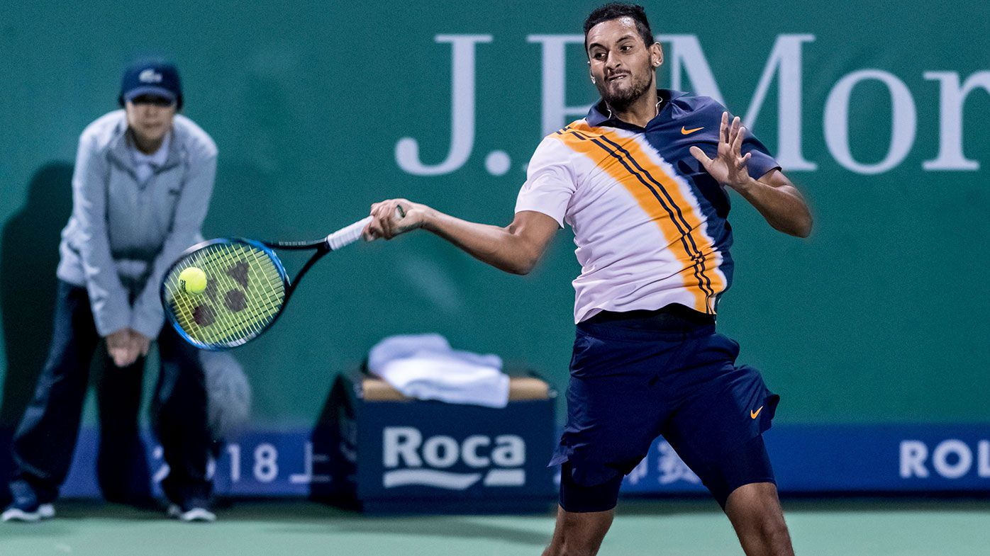 Kyrgios leaves fans stunned with insane forehand before frank post-match admission
