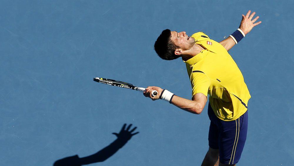 Djokovic makes flying start at Aust Open