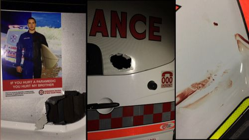 There have been 152 assaults against paramedics in less than a year. (9ENWS)