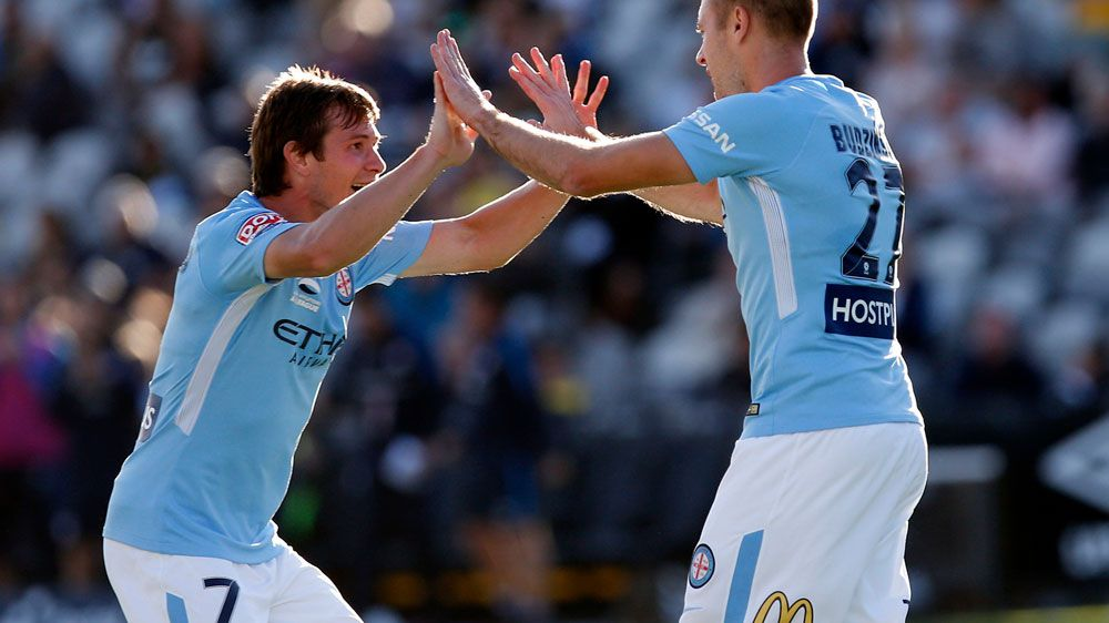A-League: Melbourne City draw with Central Coast Mariners in Gosford