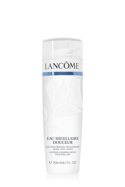 """<a href=""""http://www.lancome.com.au/skincare/by-product-category/cleansers-toners/eau-micellaire-douceur/3605530742283.html?cgid=L3_Axe_Skincare_The_Cleansers_And_Toners#start=6&amp;cgid=L3_Axe_Skincare_The_Cleansers_And_Toners"""" target=""""_blank"""">Lancome Eau Micellaire Douceur, $69.</a>"""