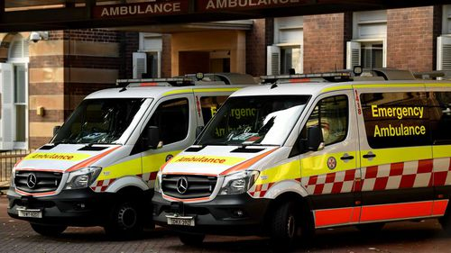 A nurse was stabbed at Sydney's RPA Hospital.