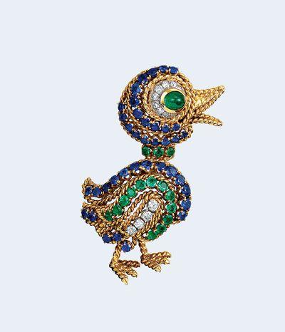 Van Cleef & Arpels duck brooch