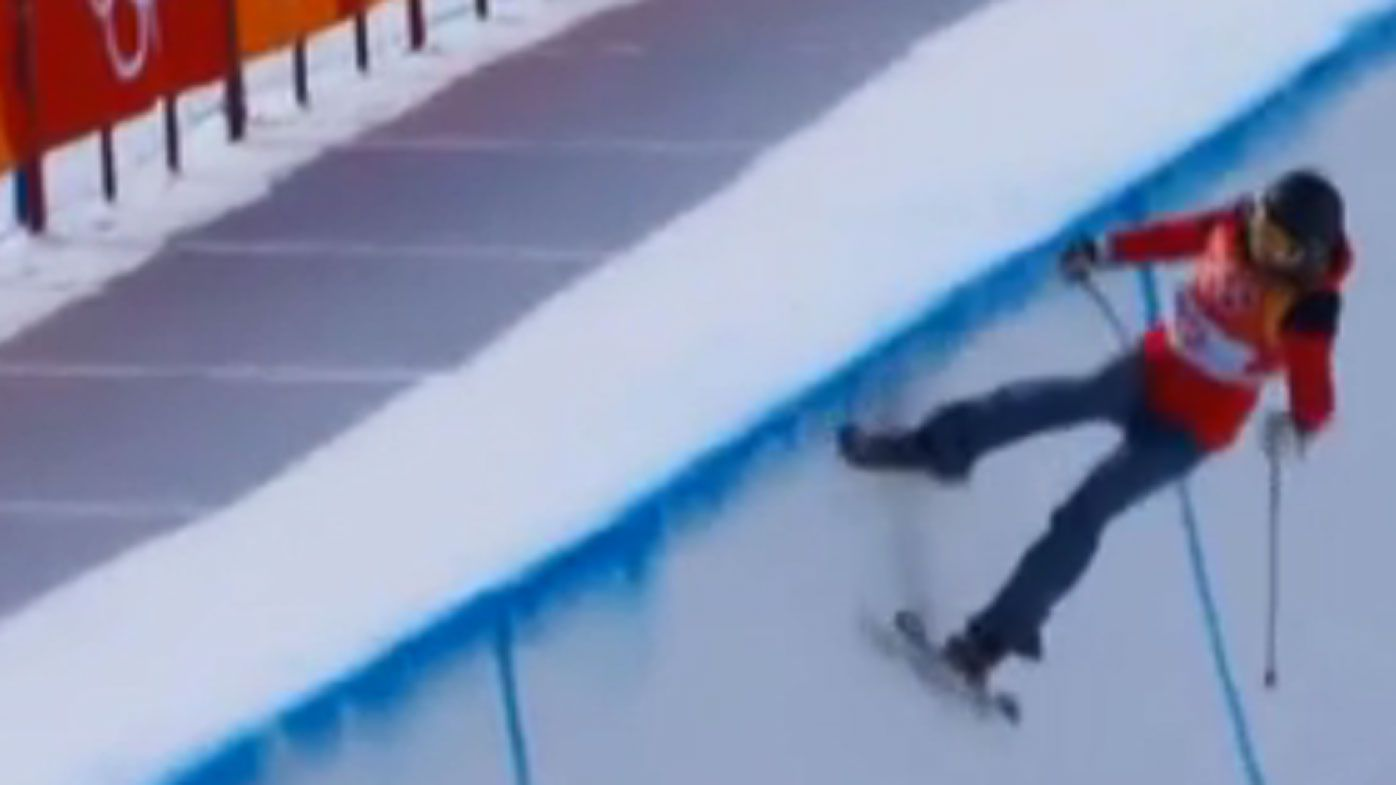 Winter Olympics 2018: Elizabeth Swaney's lack of tricks sees her finish last in qualifying for halfpipe final