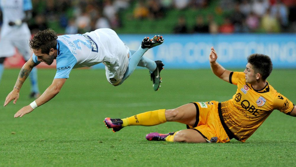 City, Glory fight out fiery draw