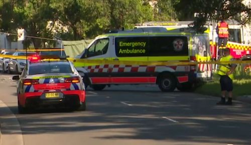 A woman has died after the collision in Western Sydney.