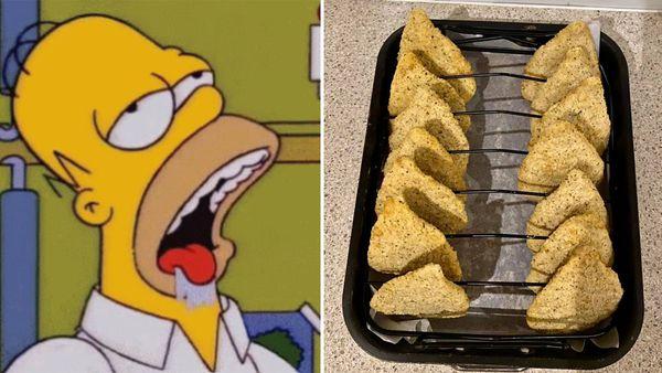 Chicken schnitzel game changer