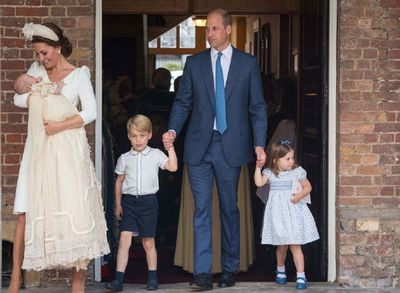 Prince Louis' special moment