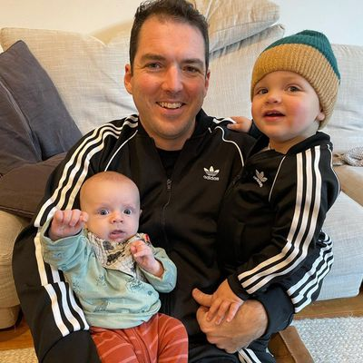 Father's Day 2021: Sylvia Jeffreys and Peter Stefanovic