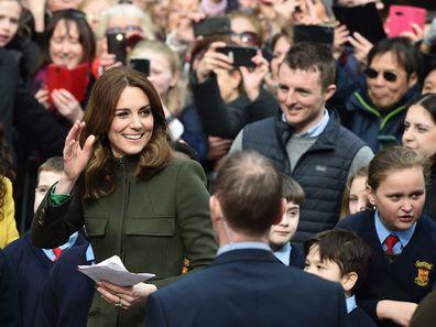 Kate Middleton in Galway, Ireland