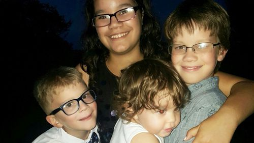 Siblings Iraya (left top), Lilia (right), Aidan (left bottom) and Dove (right bottom). (GoFundMe)