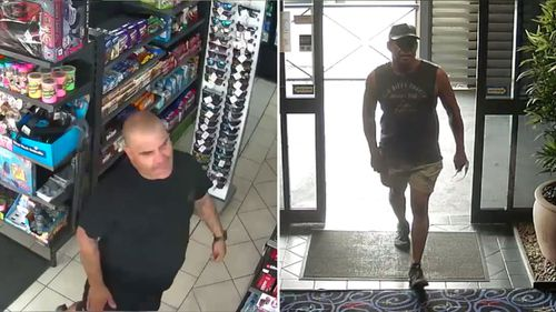 Police have released CCTV of six men they want to speak to.