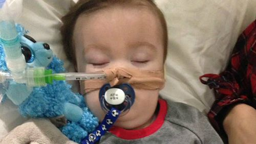 Alfie Evans is a 22-month-old boy in the UK with a degenerative neurological condition. (AAP)