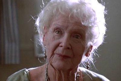 Aka the old lady from <i>Titanic</i>