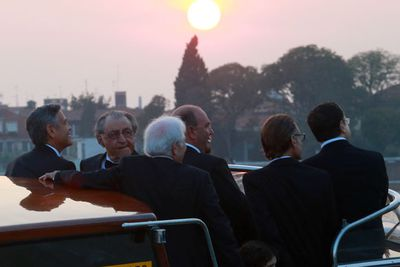 What a sight! <br/><br/>George enjoying his last few moments of singledom... <br/><br/><br/>