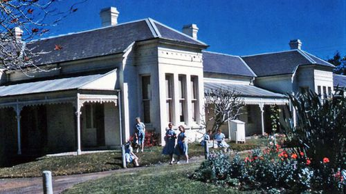 Linnwood Hall, in the days when it was still a home for school-age girls. (FACS NSW)