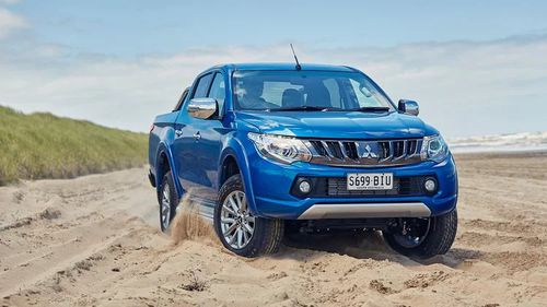 The Mitsubishi Triton is cheaper than its rival utes.