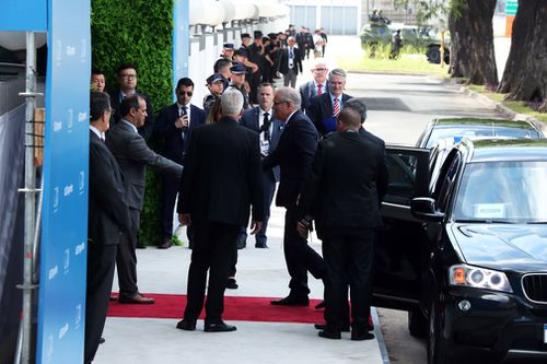 Prime Minister Scott Morrison attends the G20 Summit in Buenos Aires, Argentina.