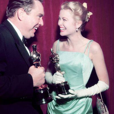 Grace Kelly at the 1955 Oscars