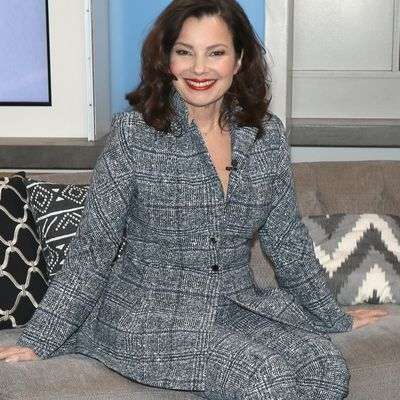 Fran Drescher as Fran Fine: Now