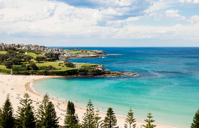 Crowne Plaza Coogee view of Coogee Beach from the balcony