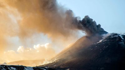 Mount Etna's slide into sea risks giant tsunami