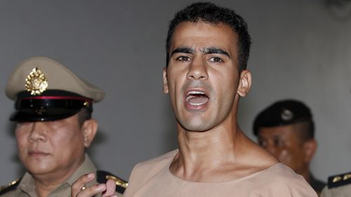 Hakeem's plight shot to viral infamy in December when he was jailed in Thailand under the request of Bahraini officials, who had a warrant out for his arrest.