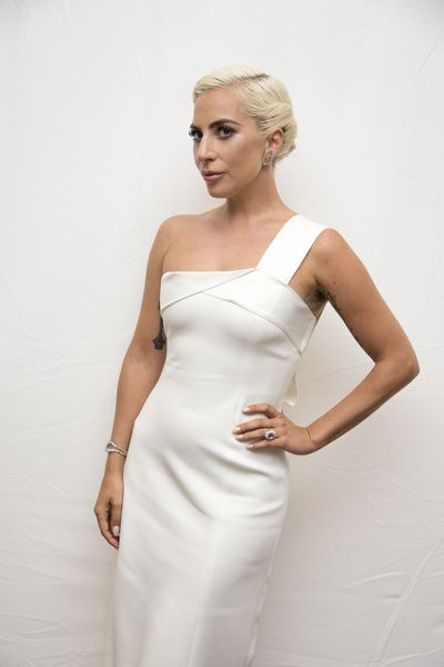 Lady Gaga at the <em>A Star Is Born</em> Press Conference in Toronto, September, 2018