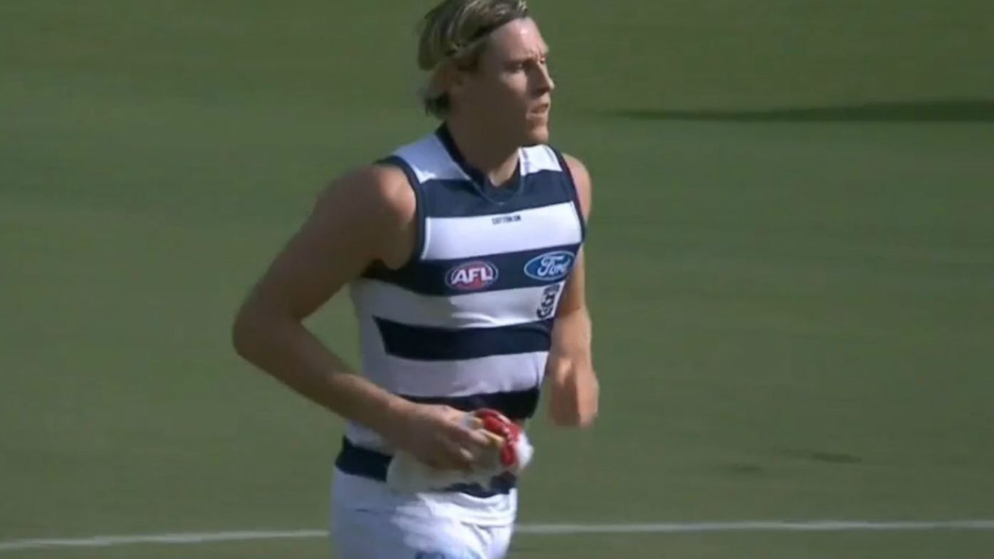 Mark Blicavs injured