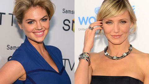Babe-fest: Kate Upton's joining Cameron Diaz on the big screen