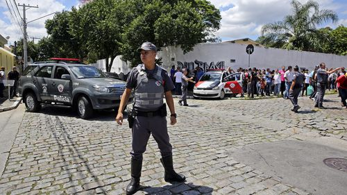 Brazil School shooting ex students nine killed