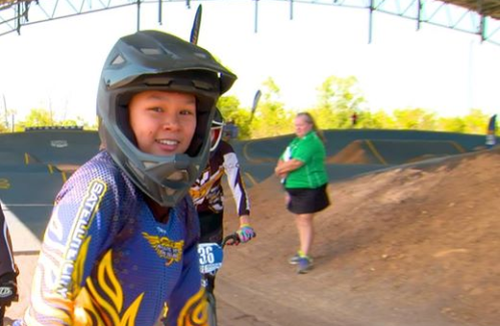 Promising young BMX rider seriously injured