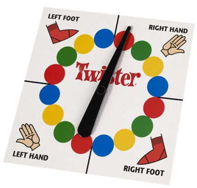 "<p>There's nothing like an old-fashioned family game to bring on the laughter and the light. Twister is perfect. Hilarious for kids and adults alike.</p> <p><a href=""https://www.target.com.au/search?text=Twister"" target=""_blank"">Twister Game, $34.50.</a></p> <p>&nbsp;</p>"