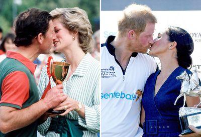 The congratulatory polo kiss