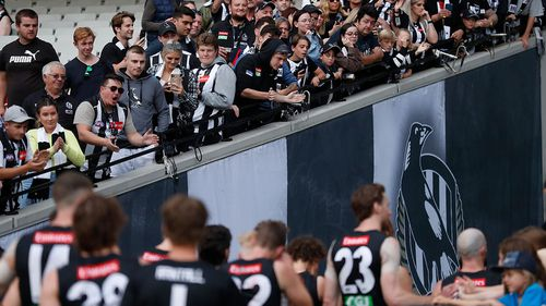 Collingwood Magpies fans