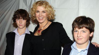 Natasha Richardson, Micheal Neeson, Daniel Neeson, the Billy Elliot The Musical opening night, Broadway, 2008