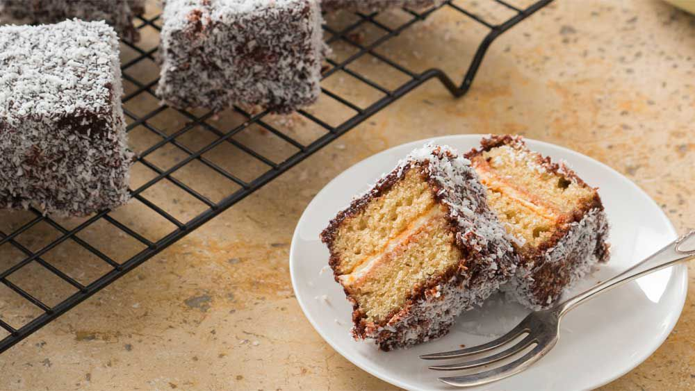 Thermomix gluten free lamingtons recipe
