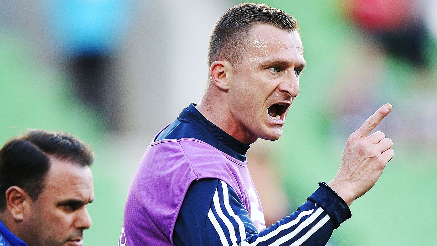 Berisha blows up at Kevin Muscat during Champions League win