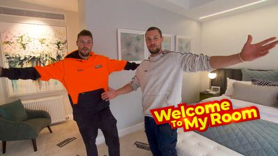 Welcome To My Room: Josh and Luke reveal secret walk-in-robe feature