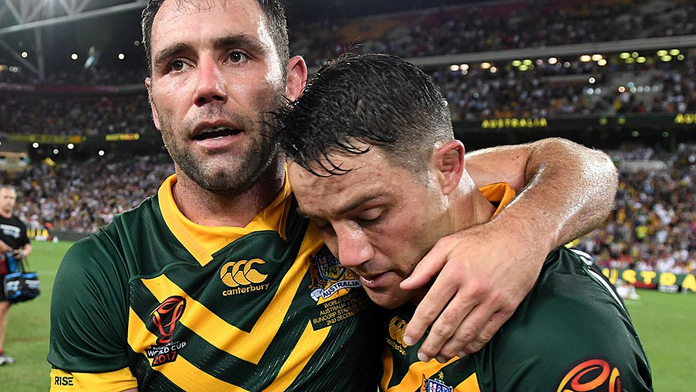 Rugby League World Cup: Cooper Cronk retires from representative footy with Queensland and Kangaroos