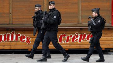 Police have launched a wide-scale manhunt.