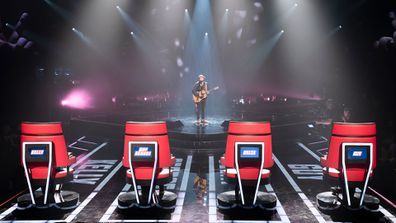 Timothy James Bowen performs during The Voice 2020 Blind Auditions