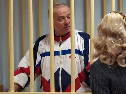 Sergei Skripal speaks from behind bars in Moscow in 2006. Picture: AAP