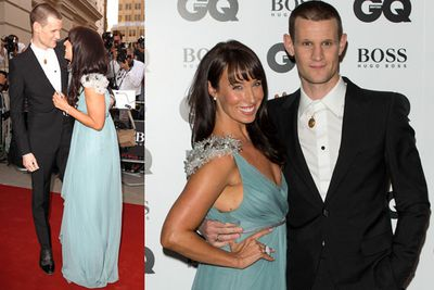<i>Doctor Who</i>'s Matt Smith with a new lady friend.
