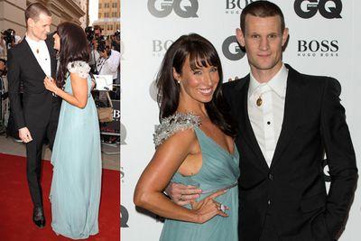 <i>Doctor Who</i>'s Matt Smith with a new lady friend.