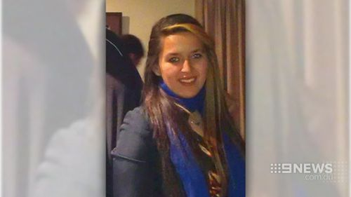 Dandenong mother Brittany Harvie. (9NEWS)